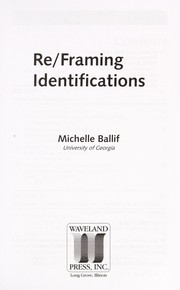 Cover of: Re/Framing identifications