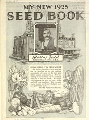 Cover of: My new 1925 seed book | Henry Field Seed and Nursery Co