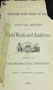 Cover of: Geology of Colorado coal deposits