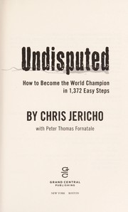 Cover of: Undisputed