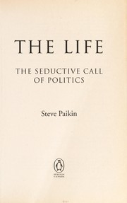 Cover of: The life | Steve Paikin
