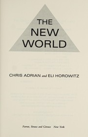 Cover of: The new world | Chris Adrian