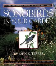 Cover of: Songbirds in your garden