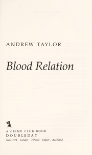 Cover of: Blood relation