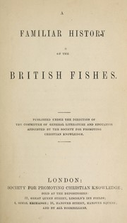 Cover of: A familiar history of the British fishes
