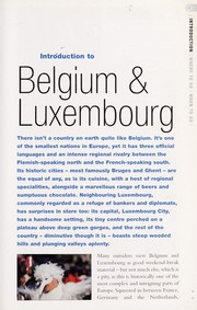 Cover of: Belgium & Luxembourg