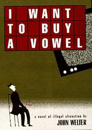 Cover of: I Want to Buy a Vowel