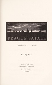 Cover of: Prague fatale