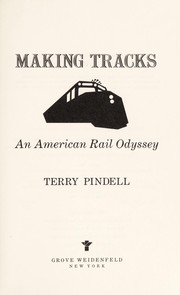 Cover of: Making tracks