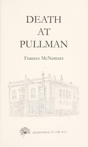 Cover of: Death at Pullman