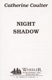 Cover of: Night Shadow