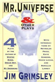Cover of: Mr. Universe and other plays