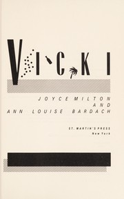 Cover of: Vicki