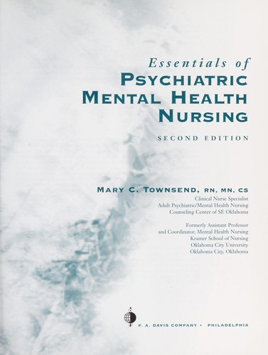 Essentials Of Psychiatric Mental Health Nursing 2002 Edition