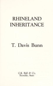 Cover of: Rhine Lander Inheritance (Rendezvous With Destiny Ser.))
