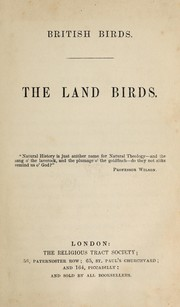 Cover of: British birds