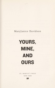 Cover of: Yours, mine, and ours