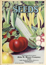 Cover of: Seeds [catalog] | John W. Moore Company