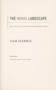 Cover of: The moral landscape