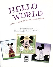 Cover of: Hello world: travel along with Mickey and his friends