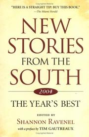 Cover of: New Stories from the South 2004 |