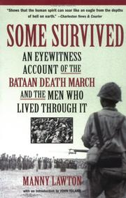 Cover of: Some survived | Manny Lawton