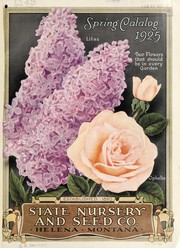 Cover of: Spring catalog | State Nursery & Seed Co