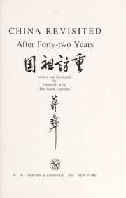 China revisited, after forty-two years