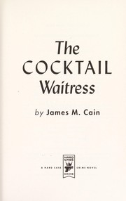 Cover of: The cocktail waitress