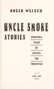 Cover of: Uncle Smoke stories