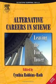 Cover of: Alternative Careers in Science | Cynthia Robbins-Roth