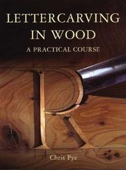 Cover of: Lettercarving in Wood
