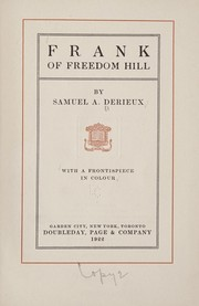 Cover of: Frank of Freedom Hill