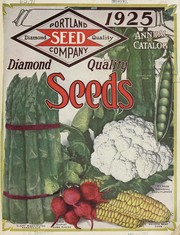 Cover of: Portland Seed Company's Catalog and seed annual for 1925