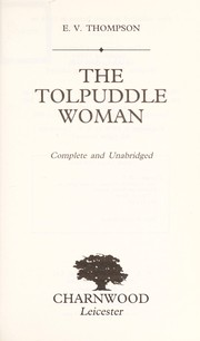 Cover of: Tolpuddle Woman
