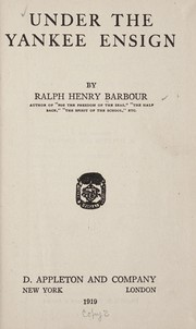 Cover of: Under the Yankee ensign