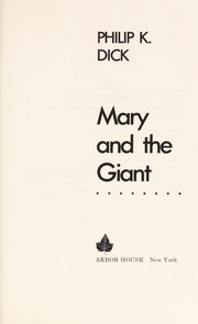 Cover of: Mary and the giant