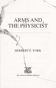 Cover of: Arms and thephysicist