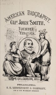 Cover of: Capt. John Smith