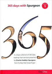 Cover of: 365 Days with Spurgeon, Volume 1