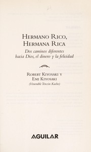 Cover of: Hermano rico, hermana rica