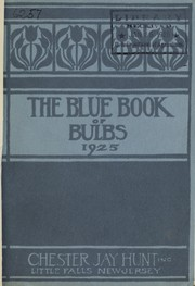 Cover of: The blue book of bulbs | Chester Jay Hunt (Firm)