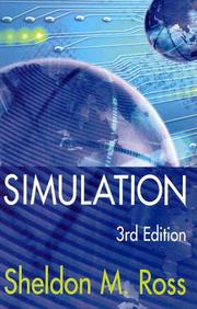 Cover of: Simulation, Third Edition | Sheldon M. Ross