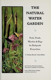 Cover of: The natural water garden |