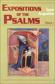 Cover of: Expositions of the Psalms,1-32 Vol. 1 (Works of Saint Augustine, Vol. III, No. 15) | Augustine of Hippo