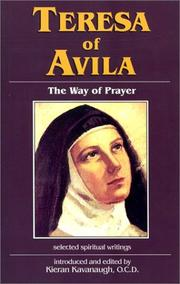 Cover of: Teresa of Avila | Kieran Kavanaugh