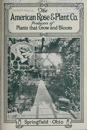 Cover of: The American Rose & Plant Co | American Rose & Plant Co