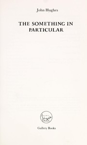 Cover of: The something in particular