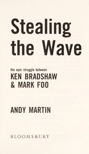 Cover of: Stealing the wave