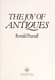 Cover of: The Joy of Antiques